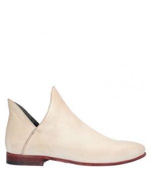Полусапоги и высокие ботинки JP/DAVID. Цвет: бежевый