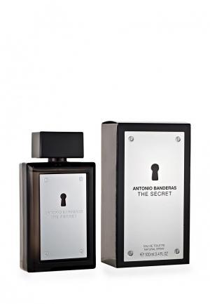 Туалетная вода Antonio Banderas THE SECRET 100 мл. Цвет: белый