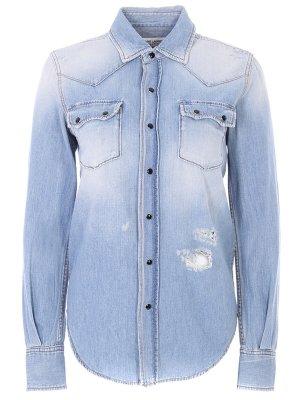 Рубашка джинсовая YSL