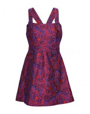 Короткое платье OPENING CEREMONY. Цвет: красный