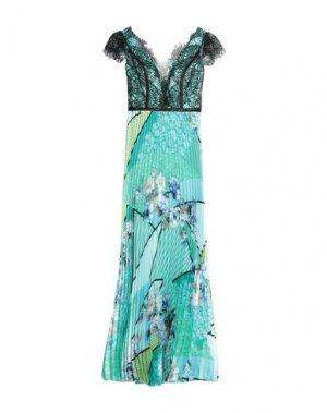 Длинное платье MIKAEL. Цвет: зеленый