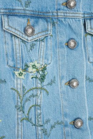 Джинсовая куртка Etro. Цвет: голубой