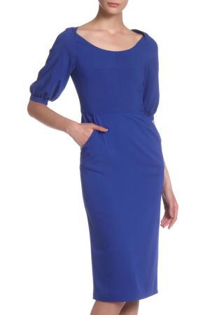 Платье IQDRESS. Цвет: васильковый