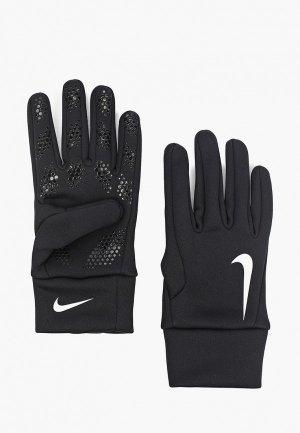 Перчатки футбольные Nike Hyperwarm Field Players Glove. Цвет: черный