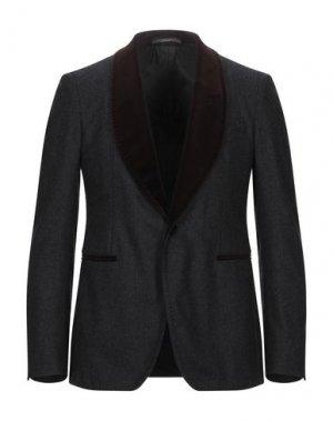 Пиджак PINO LERARIO 02-05. Цвет: стальной серый