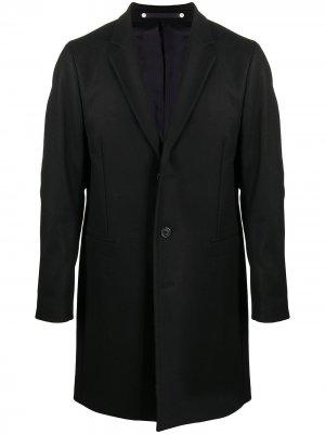 Однобортный пиджак узкого кроя PS Paul Smith. Цвет: черный