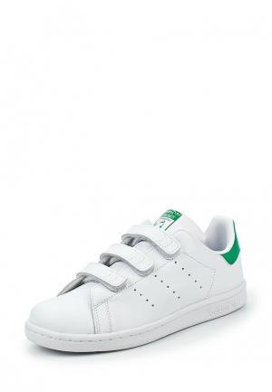 Кеды adidas Originals STAN SMITH CF C. Цвет: белый