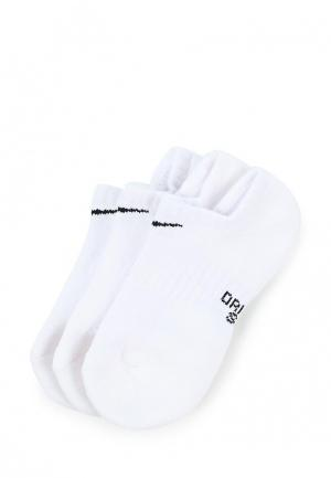 Комплект Nike KIDS PERFORMANCE CUSHIONED NO-SHOW TRAINING SOCKS (3 PAIR). Цвет: белый