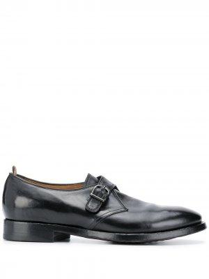 Туфли монки Officine Creative. Цвет: черный