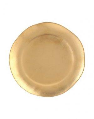 Блюдо BITOSSI HOME. Цвет: золотистый