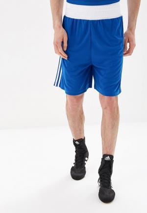 Шорты спортивные adidas Combat Boxing Short Punch Line. Цвет: синий