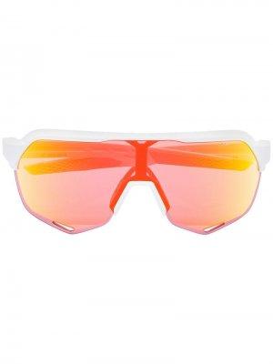 Солнцезащитные очки с эффектом градиент 100% Eyewear. Цвет: белый