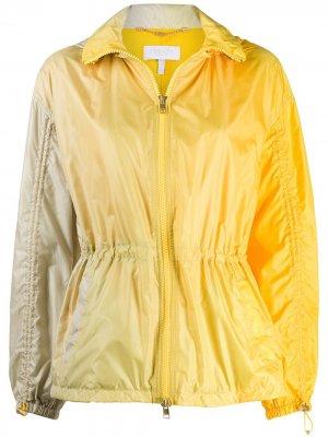 Приталенная спортивная куртка Escada Sport. Цвет: желтый