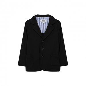 Пиджак из вискозы Aletta. Цвет: синий