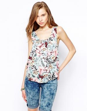 Tropical Woven Top Only. Цвет: мульти