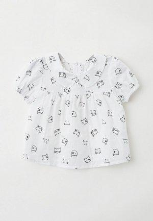 Блуза Ete Children. Цвет: белый