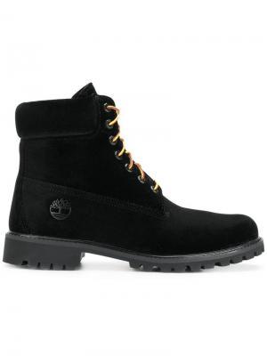 High ankle boots Off-White. Цвет: черный