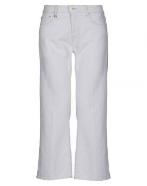 Джинсовые брюки CYCLE. Цвет: слоновая кость