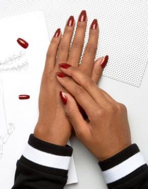 Накладные ногти -Красный Elegant Touch