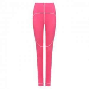 Леггинсы adidas by Stella McCartney. Цвет: розовый