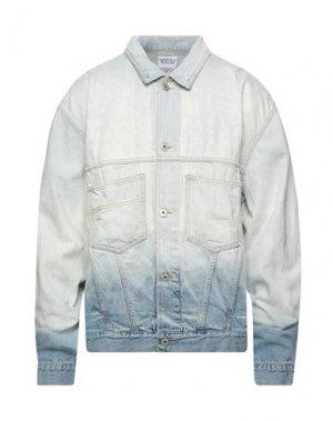 Джинсовая верхняя одежда MARCELO BURLON. Цвет: синий