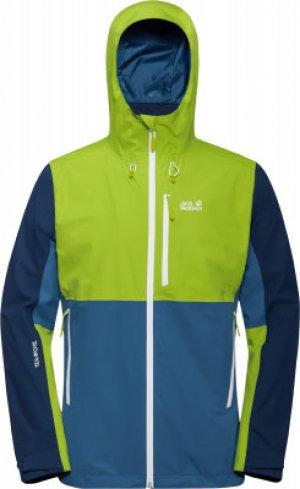 Куртка мембранная мужская Jack Wolfskin Eagle Peak, размер 54-56. Цвет: синий