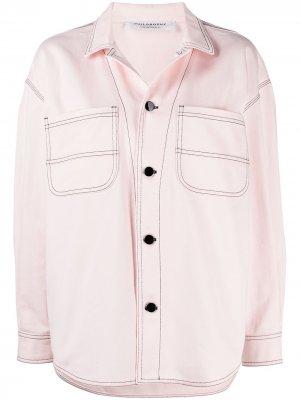 Джинсовая куртка Philosophy Di Lorenzo Serafini. Цвет: розовый