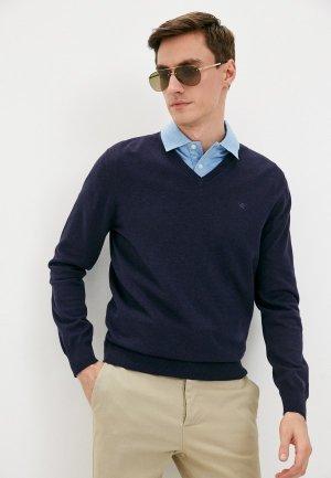 Пуловер Hackett London. Цвет: синий