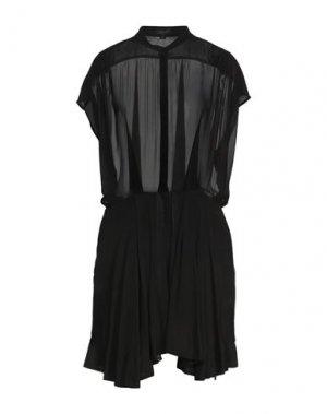 Короткое платье FULL CIRCLE. Цвет: черный