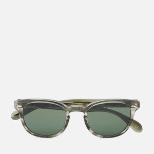 Солнцезащитные очки Sheldrake Sun Oliver Peoples. Цвет: зелёный