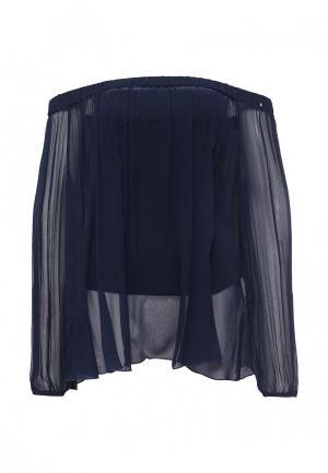 Блуза Sportmax Code. Цвет: синий