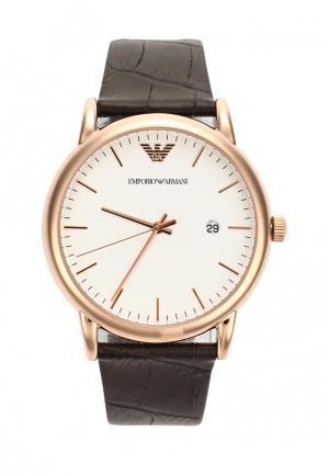 Часы Emporio Armani AR2502. Цвет: коричневый