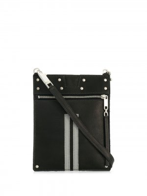 Neck strap passport holder Rick Owens. Цвет: черный