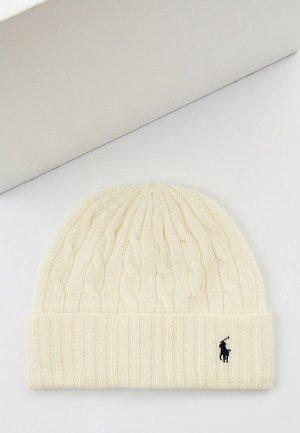 Шапка Polo Ralph Lauren. Цвет: белый
