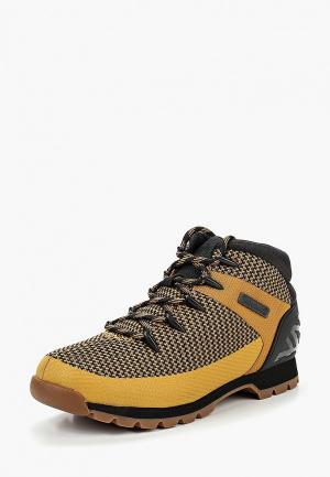 Ботинки трекинговые Timberland EURO SPRINT FABRIC WHEAT. Цвет: коричневый