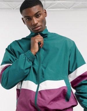 Зеленая спортивная куртка -Зеленый Esprit