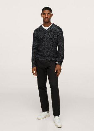 Пуловер из шерсти - Altea Mango. Цвет: черный