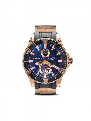 Наручные часы Marine Chronometer 49мм Ulysse Nardin. Цвет: голубой