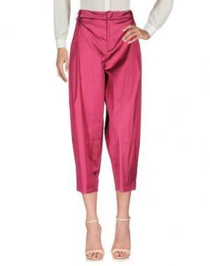 Повседневные брюки PT Torino. Цвет: пурпурный