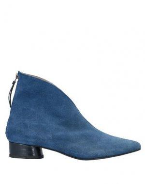 Полусапоги и высокие ботинки JOSEPHINE. Цвет: синий
