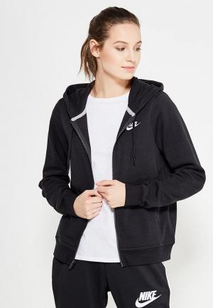 Толстовка Nike Sportswear Womens Hoodie. Цвет: черный