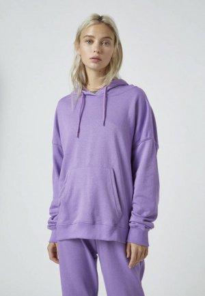 Худи Pull&Bear. Цвет: фиолетовый