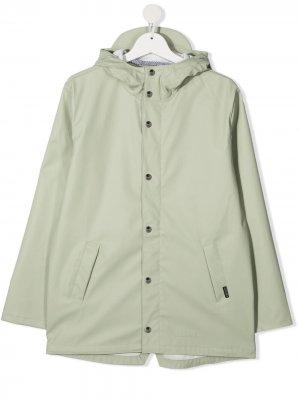 Непромокаемая куртка Elephant Man с капюшоном Gosoaky. Цвет: зеленый