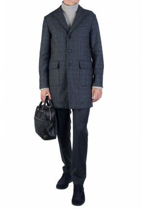 Пальто ADD. Цвет: темно-серый