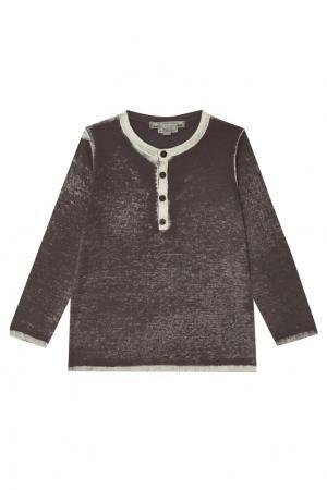 Пуловер с выбеленным эффектом Bonpoint. Цвет: черный