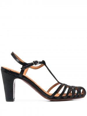 Босоножки Kuquenu с закрытым носком Chie Mihara. Цвет: черный