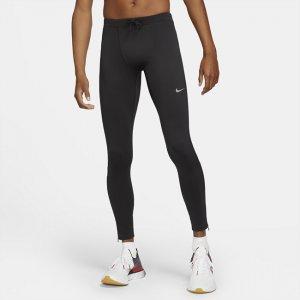 Мужские беговые тайтсы Dri-FIT Challenger - Черный Nike