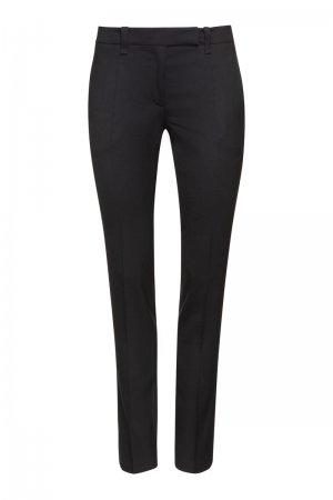 Классические брюки зауженного кроя VASSA&Co. Цвет: черный