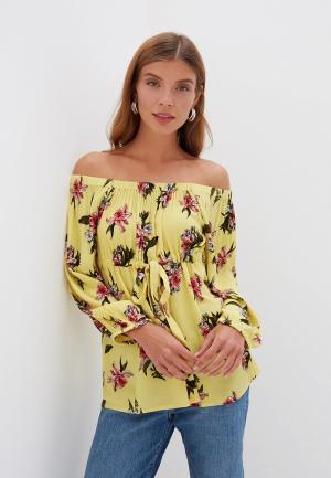 Блуза Dorothy Perkins Maternity. Цвет: желтый