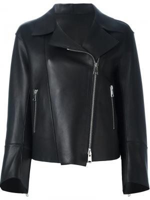 Кожаная куртка Sylvie Schimmel. Цвет: чёрный